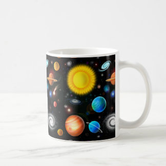 Colorful Universe Astronomy Space Mug