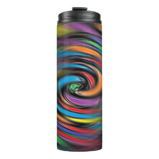 Colorful Vibrations Thermal Tumbler