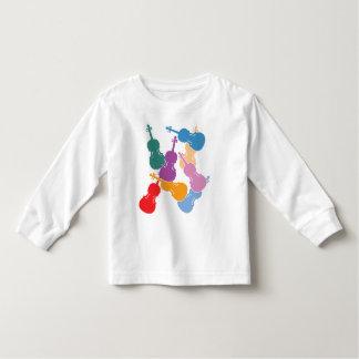 Colorful Violas Toddler T-Shirt