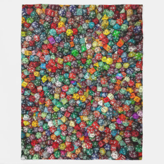Colorfull Dice Blanket