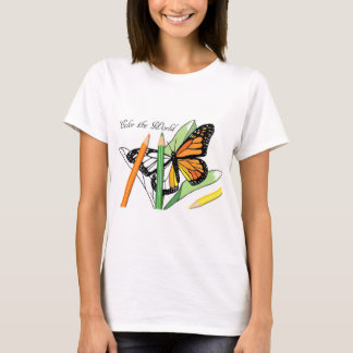 coloring butterfly T-Shirt