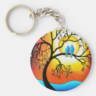 """""""Colors of the Season"""" by Helen Janow Miqueo Key Ring"""