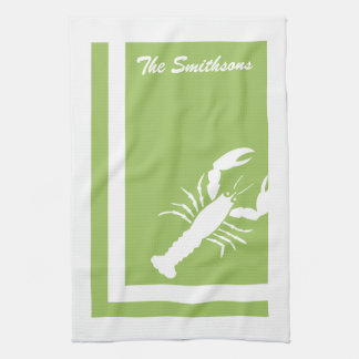 Colour Block Lobster American MoJo Kitchen Towels