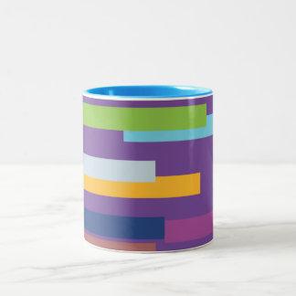 Coloured Stripes Mug