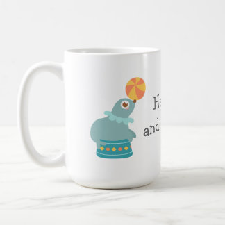 Colourful and Cute Circus Theme Coffee Mug