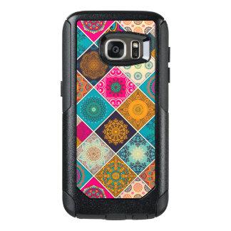 Colourful Bohemian Mandala Patchwork OtterBox Samsung Galaxy S7 Case