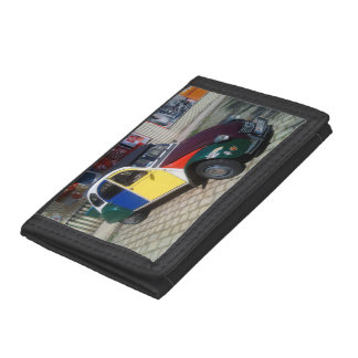 Colourful Citroen 2 CV Trifold Wallet