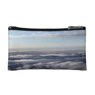 Colourful Clouds from an aeroplane Makeup Bag