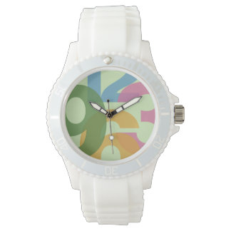 colourful contemporary sports watch