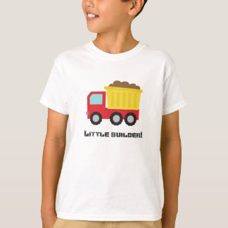 Colourful Dump Truck, For Little Builders, Boys T-Shirt