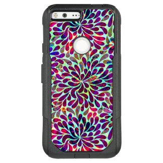 Colourful Floral Seamless Pattern OtterBox Commuter Google Pixel XL Case