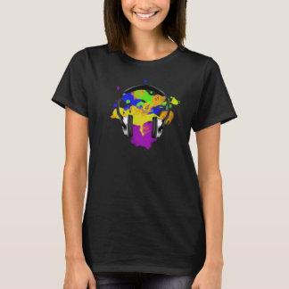 Colourful Headphone T-Shirt