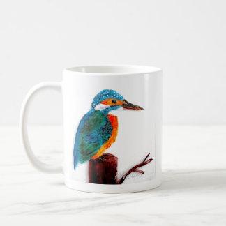 Colourful Kingfisher Art Coffee Mug