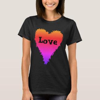 Colourful love heart T-Shirt