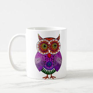 Colourful Owl Coffee Mug