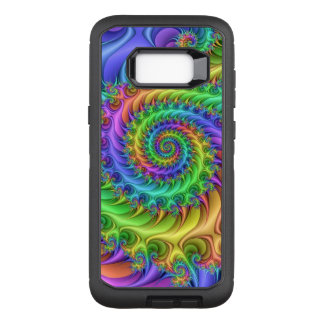 Colourful Psychedelic Pattern OtterBox Defender Samsung Galaxy S8+ Case