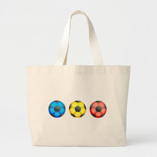 Colourful Soccer Balls Bags