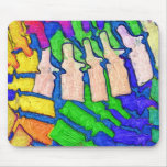 Colourful Spine Art Mousepad