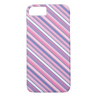 Colourful Striped iPhone 7 case