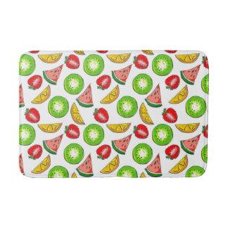 Colourful Summer Fruit Bathroom Mat Bath Mats