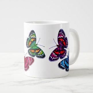 Colourful Tropical Butterflies Jumbo Mug