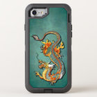 Colourful Vintage Fantasy Fire Dragon Tattoo Art OtterBox Defender iPhone 8/7 Case
