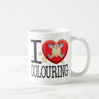 Colouring Love Man Coffee Mug