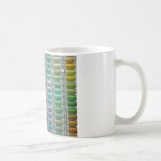 Colours of cotton coffee mug