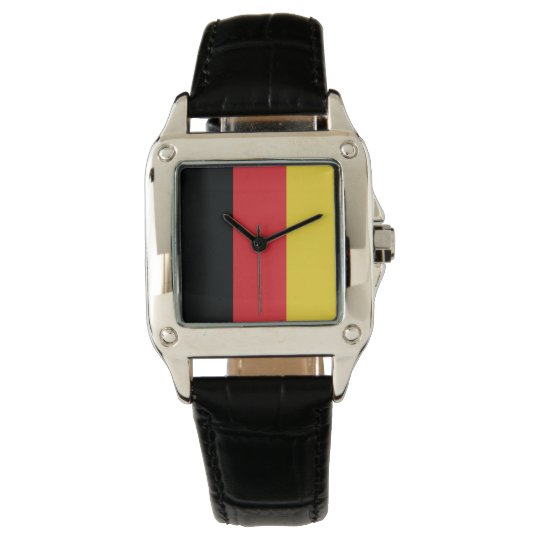Colours of Germany Flag. Watch