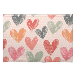 Colours of Individual Love Tablecloth Placemat