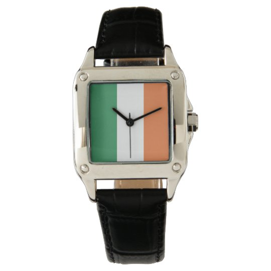 Colours of Ireland Flag. Wrist Watches
