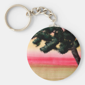 Colours of Life Basic Round Button Key Ring