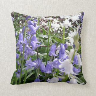 Colours of Spring 2016 Bluebells Photos Cushion 2