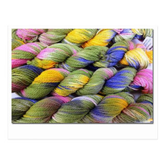 ColourSpun: Natural, Hand-Dyed Yarn Postcard