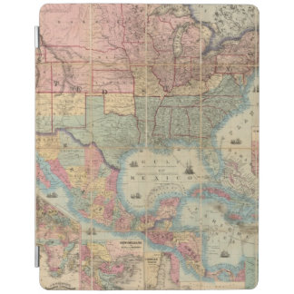 Colton's Railroad And Military Map iPad Cover
