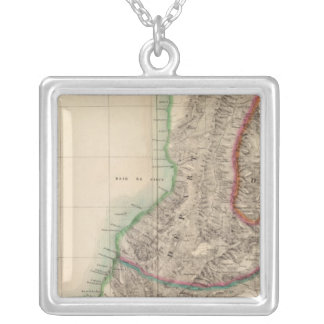 Columbia, South America 4 Silver Plated Necklace
