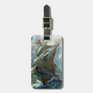 Columbus Day Luggage Tag