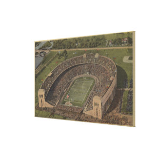 Columbus, Ohio - Ohio State University Canvas Print