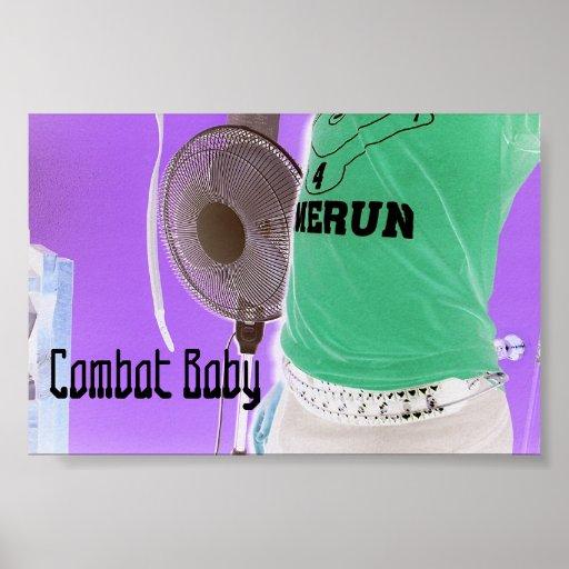 Combat Baby Posters