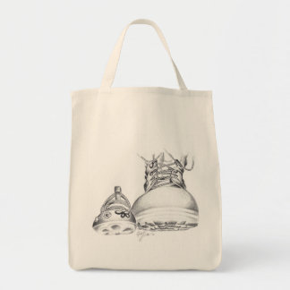Combat Boots and Mary Janes- Grocery edition Tote Bag