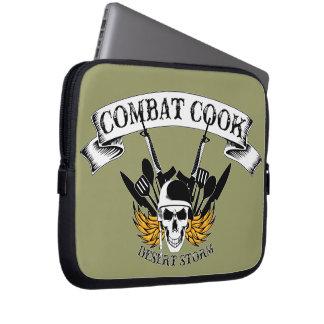 Combat Cook - Desert Storm Laptop Sleeves