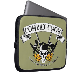 Combat Cook - OEF Computer Sleeves