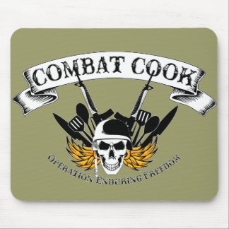 Combat Cook - OEF Mouse Pad