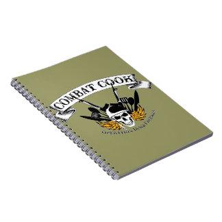 Combat Cook - OIF Note Book