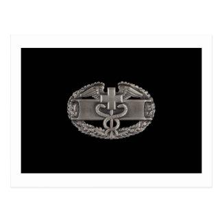 Combat Field Medical Badge (CFMB) Postcard