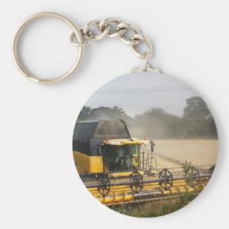 Combine harvester key ring