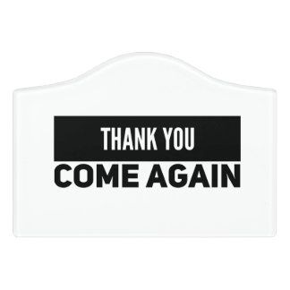 Come Again Sign | Generic