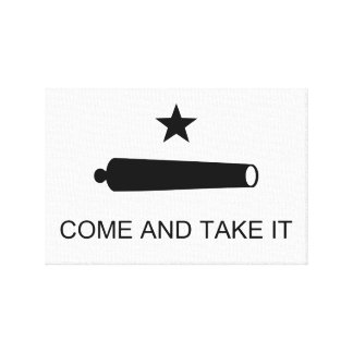 Come and Take It Canvas Print
