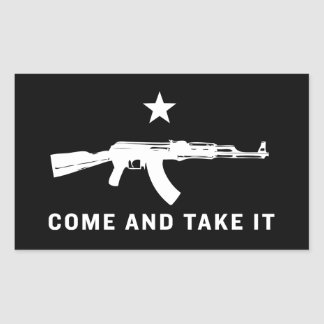 Come and Take It Stickers