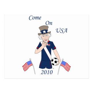 Come on USA Postcards